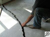 Twip Of The Day Fixing Basement Floor Cracks Mar Flex